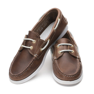 Marion Boat Shoe - Natural Chromexcel