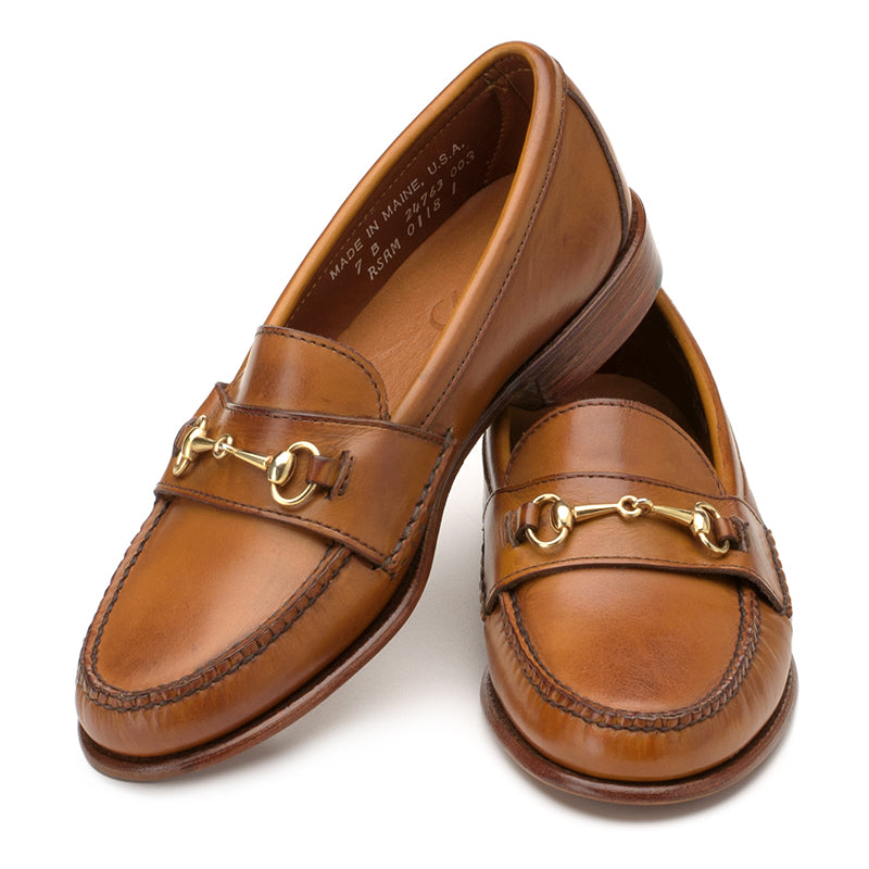 Women's Horsebit Loafers - Amber Calf