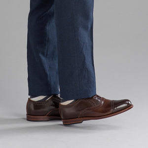 Bartlett Oxford - Color 8 Shell Cordovan