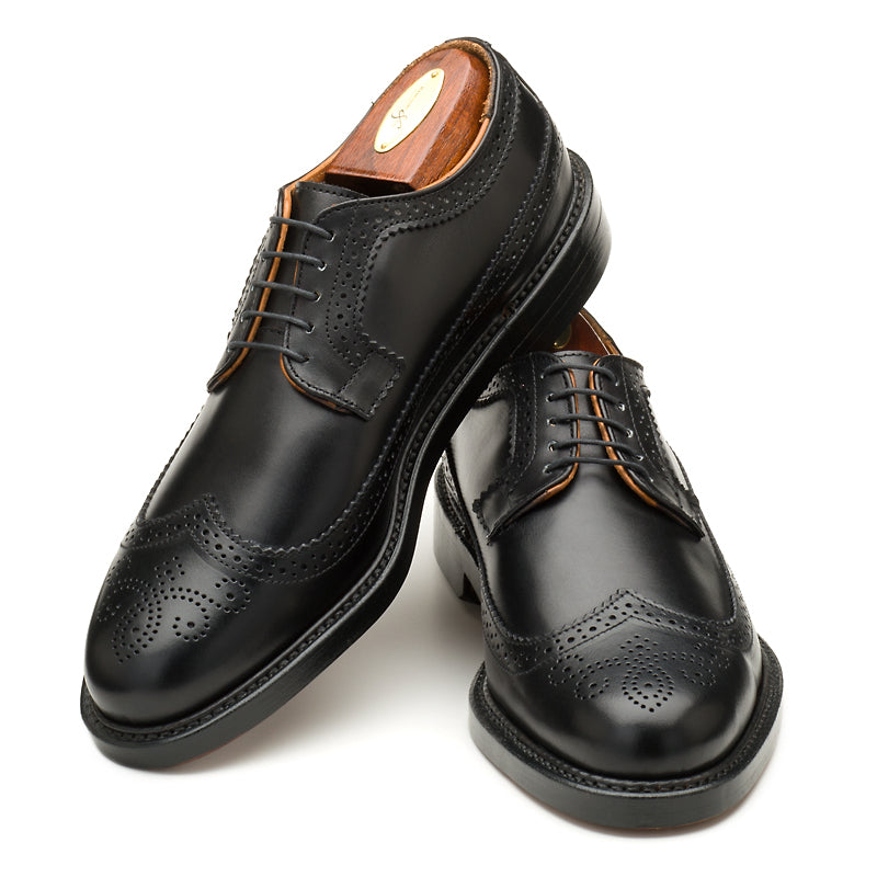 Chandler Longwing - Black Calf
