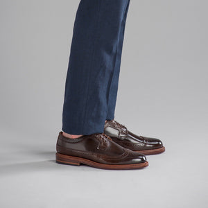 Chandler Longwing - Espresso Shell Cordovan