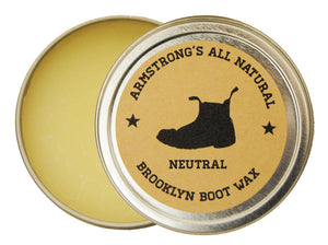 Armstrong's Brooklyn Boot Wax