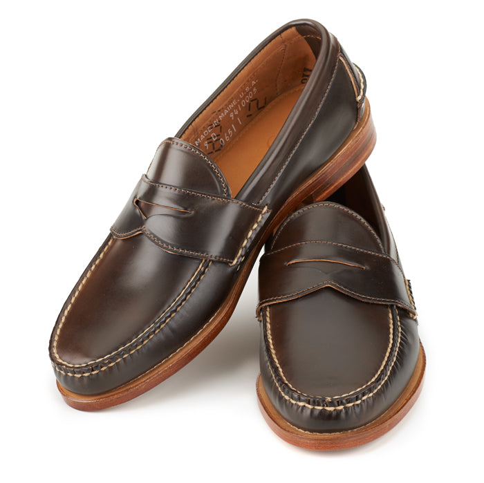 Pinch Penny Loafers - Espresso Shell Cordovan
