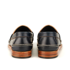 Pinch Penny Loafers - Navy Shell Cordovan