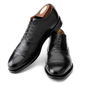 Bartlett Oxford - Black Calf
