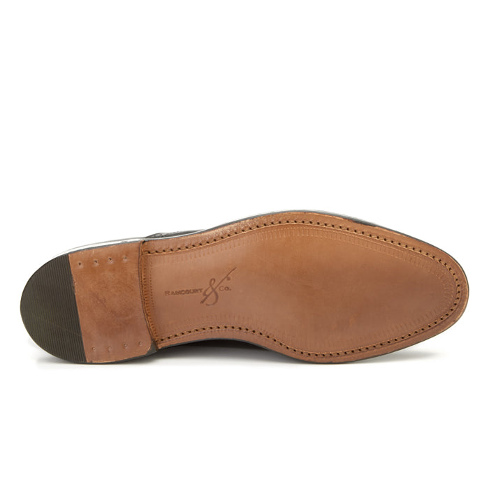 Bartlett Oxford - Dark Brown Calf