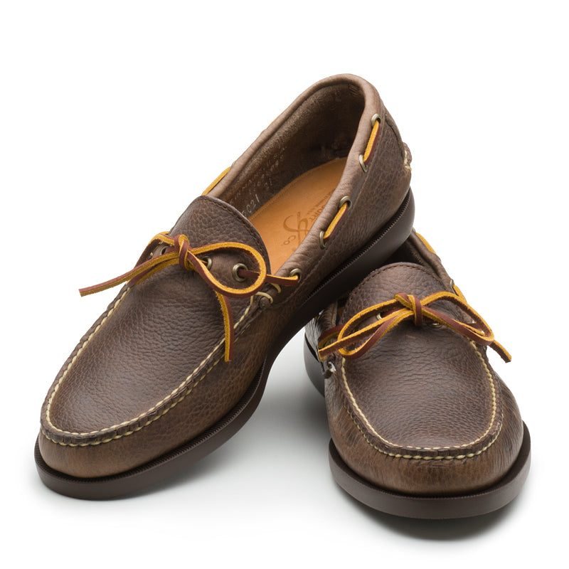 Gilman Camp-moc - Dark Brown Buckaroo