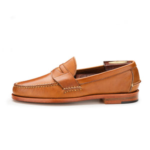 Eastport Penny Loafers - Tan Bulldog