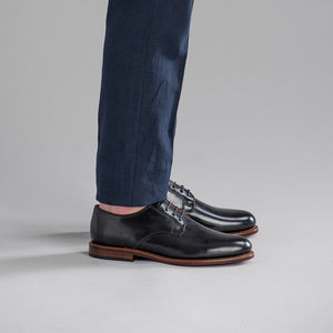 Sanford Blucher - Black Shell Cordovan