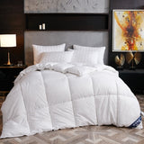 High grade White Goose/Duck Down Comforter Duvet Winter Quilt Blanket Filler with Cotton Cover Twin Full Queen King Size