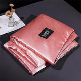 30Summer Washed Silk Quilt Solid Pink Red White Grey Blanket Adult Kids Air Condition Comforter Bedspread Bed Cover Bedding