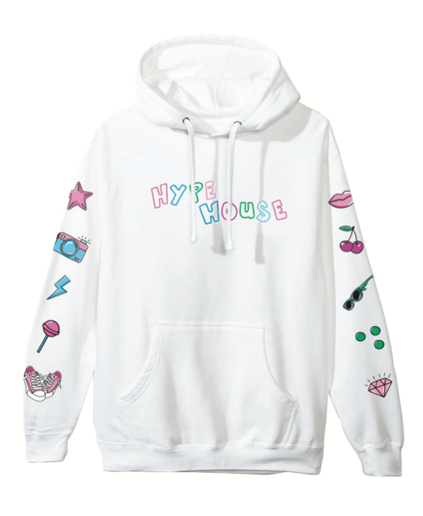 Pool Party Hoodie - White