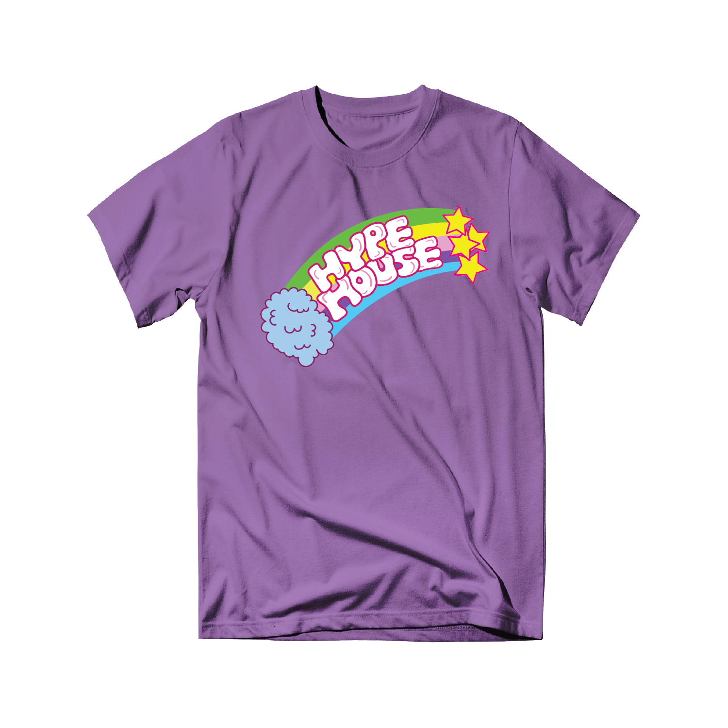 Rainbow Purple Tee