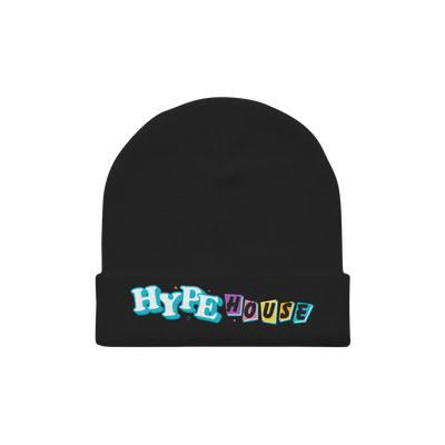 Full House Black Beanie