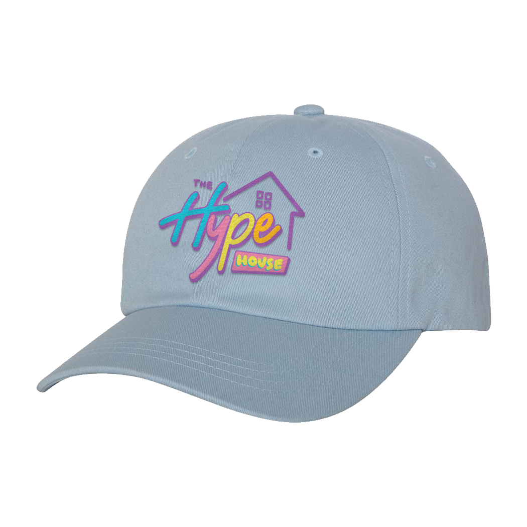 Logo Light Blue Dad Hat