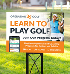 Learn To Play Golf Yard Signs