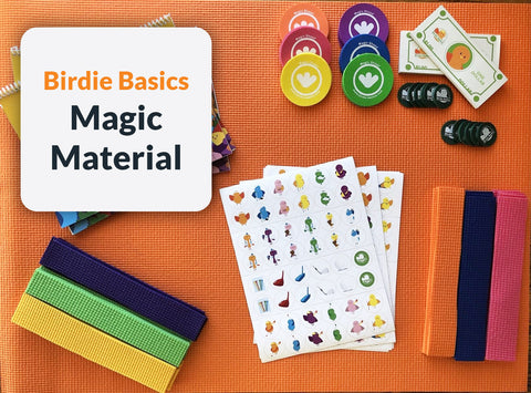 Future 36ers - Birdie Basics Magic Material
