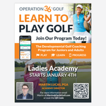 Ladies Academy Flyer - 1/4 Page