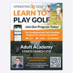 Adult Academy Flyer - 1/4 Page