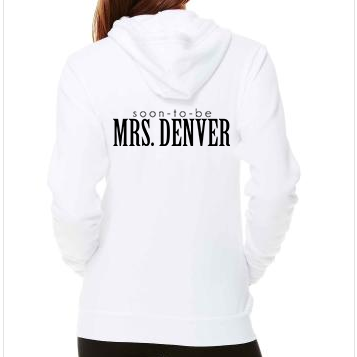 Soon-To-Be Mrs White Hoodie