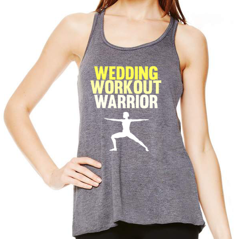 Wedding Workout Warrior Tank Top