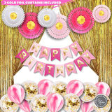 RAIN MEADOW Birthday Decoration Set