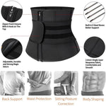 Brabic Neoprene Waist Trainer Workout ABS Belt