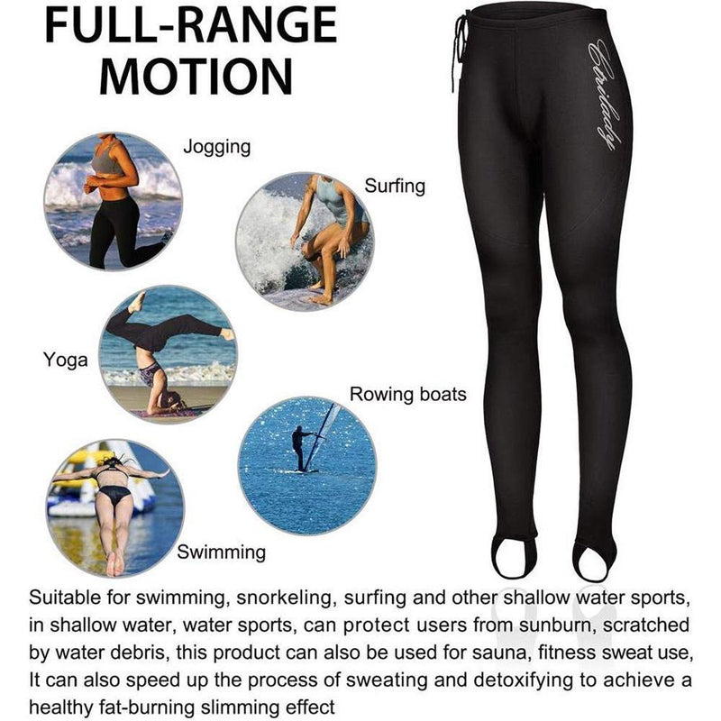 Women's Neoprene Pants for Workout Swimming Surfing Diving