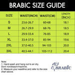 Brabic Women Sauna Sports Shorts Elastic Pants