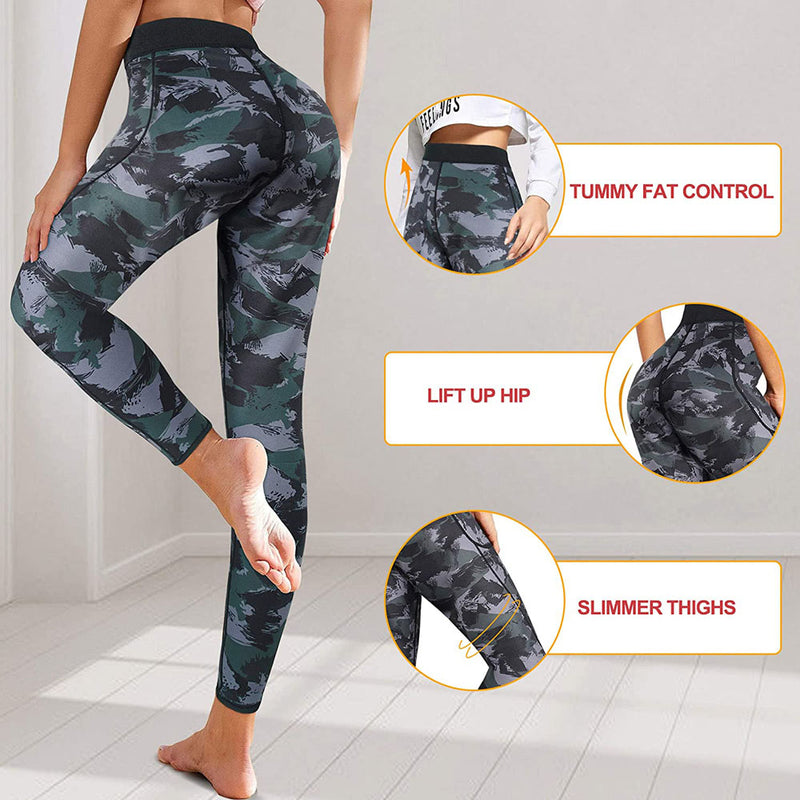 BRABIC Neoprene High Waisted Workout Pants