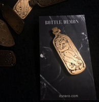 Long Bottle Demon Pin