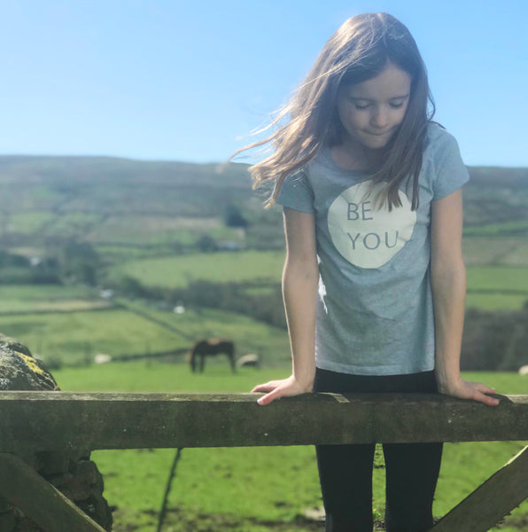 Be You mindfulness t-shirt for kids
