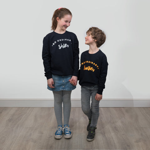 no ordinary brother and sister sweatshirts