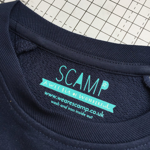 Scamp sweatshirts for kids