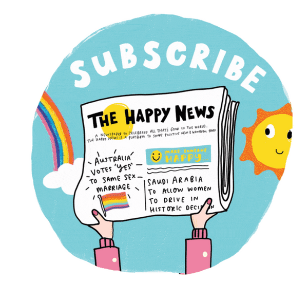 The Happy Newspaper subscription