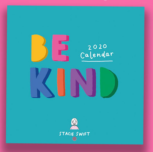 BE Kind Stacie Swift calendar