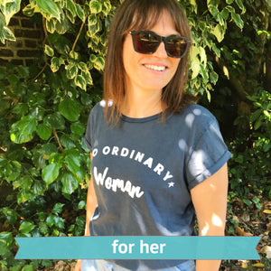 women slogan t-shirt