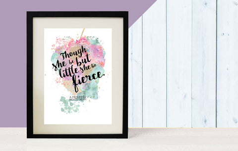 Bookishly Midsummer Night Dream Print