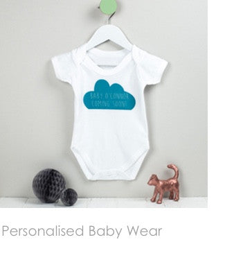 personalised baby wear