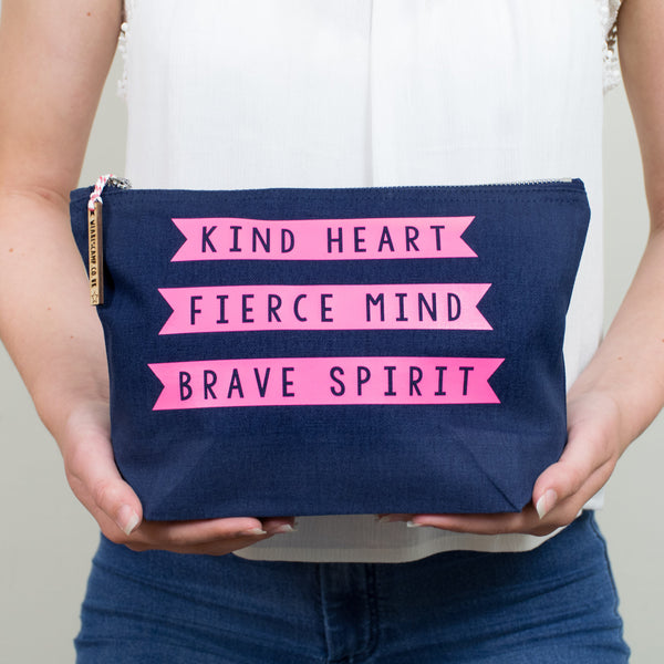 Kind Heart Make Up Pouch/Accessories Case