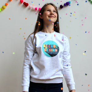 'Be Cool Be Kind' Unisex Sweatshirt for Kids