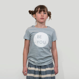 Be You Kids T-shirt White Print