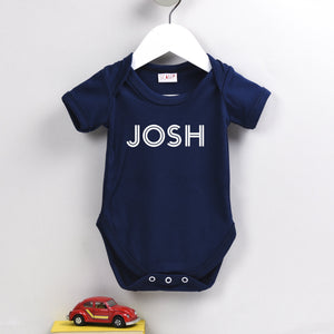 Personalised Name Babygrow