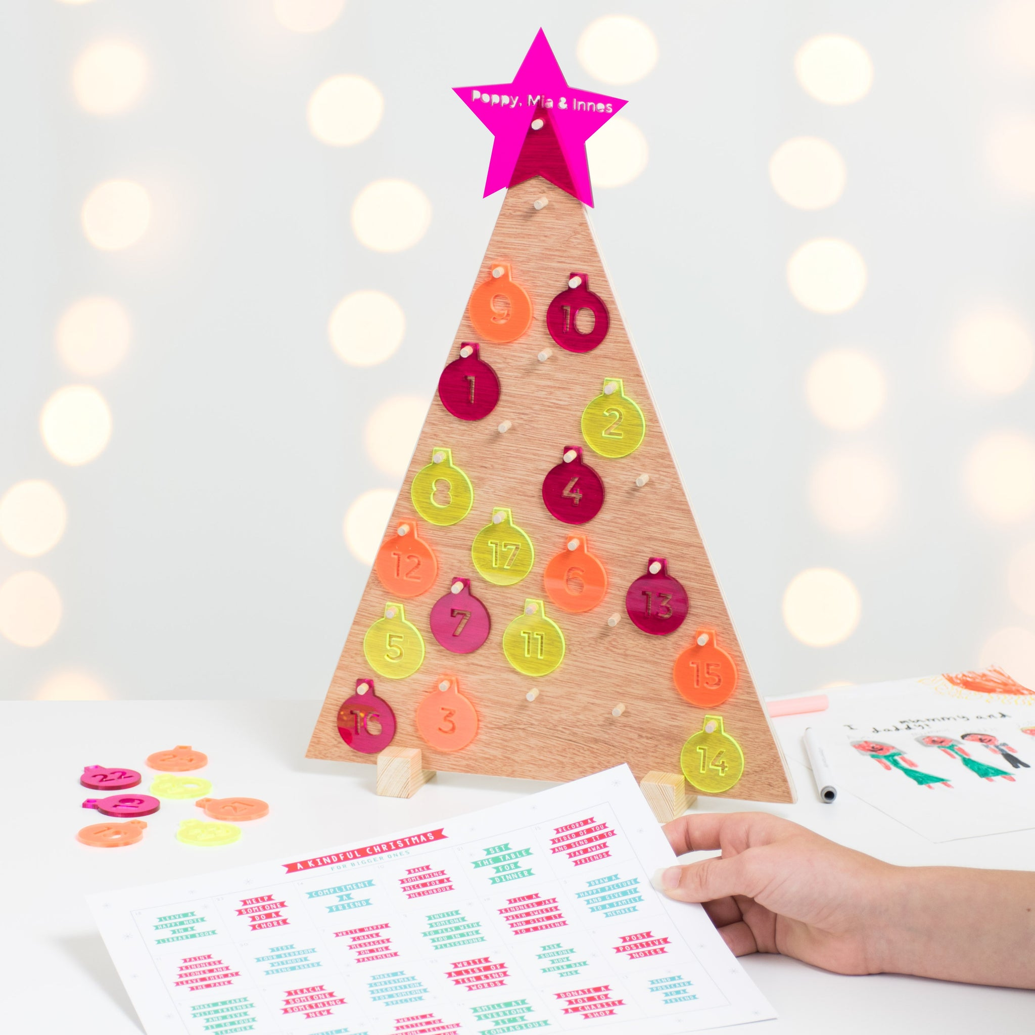 Kindful Christmas Advent Tree (limited edition)