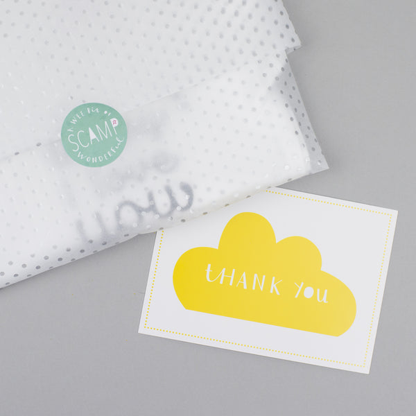 packaging from personalised baby wear