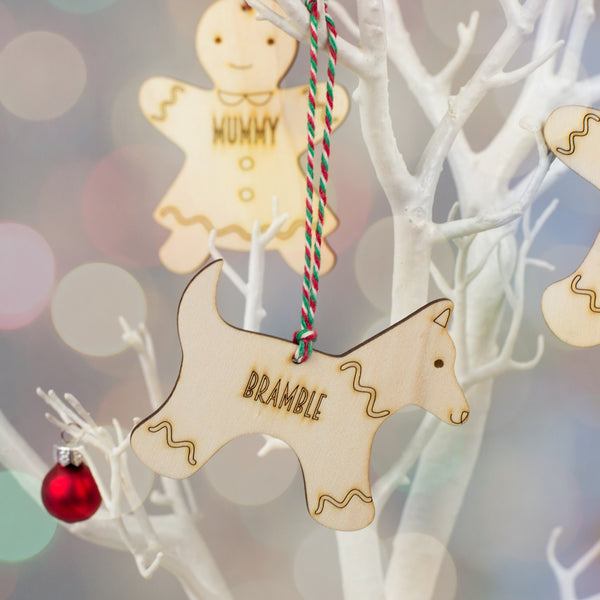 gingerbread pet christmas decoration