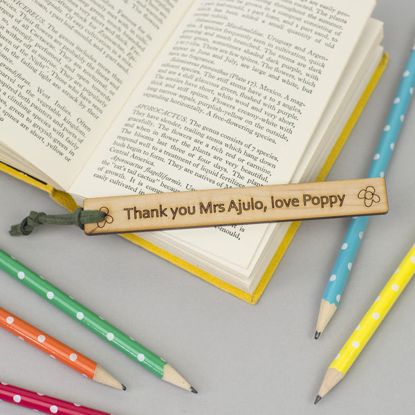 end of year personalised teacher gift