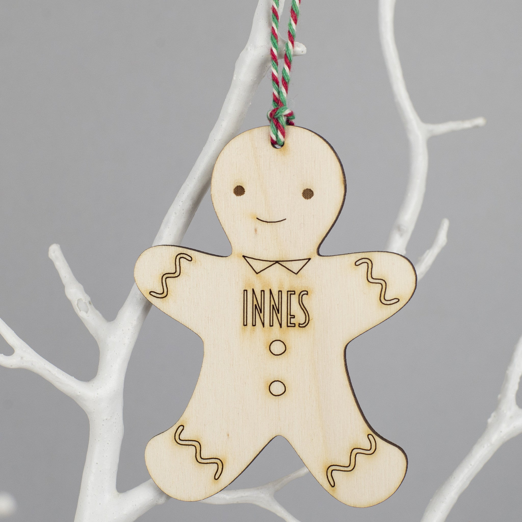 gingerbread small male decoration