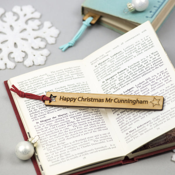 christmas bookmark gift for a teacher