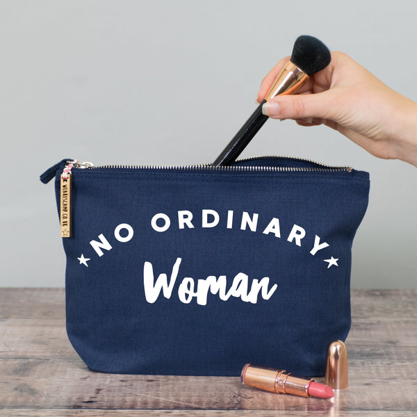 No Ordinary Woman Make Up Pouch/Accessories Case